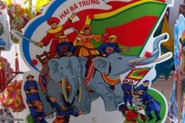 Đa dạng lồng đèn Việt